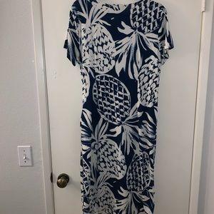 Eloquii Dresses - Cute blue and white dress